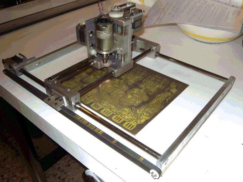 Станок для фрезеровки печатных плат своими руками 81